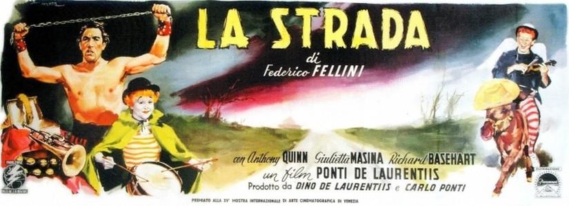 "La Strada ""The Street"" (1954) – Federico Fellini"